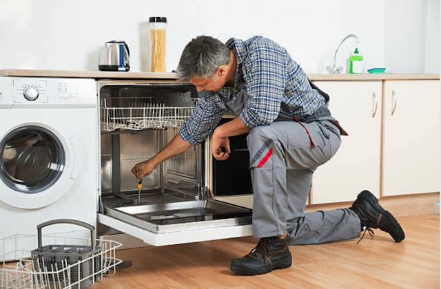 repairing a dishwasher in menomonee falls