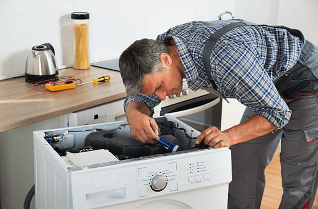 repairing a washer in brookfield